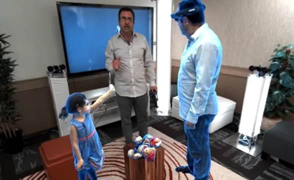 Microsoft Holoportation 3D Presence Technology