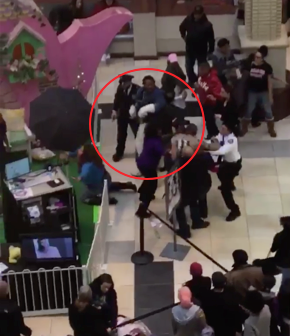 Easter Bunny Gets Mad In New Jersey Mall Brawl