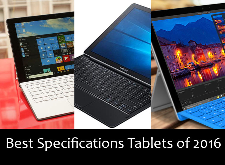 List of Best Tablets of 2016