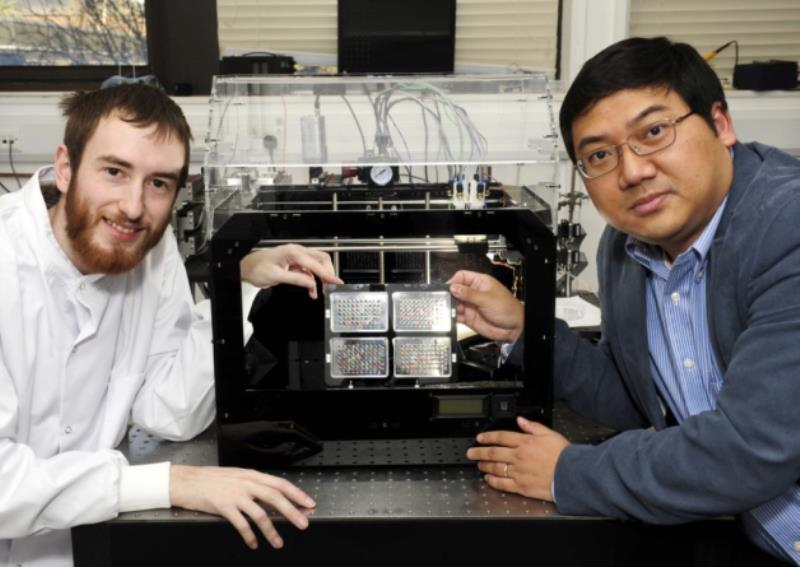 3D printers used to embryonic stem cell