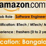 Amazon need Software Engineers