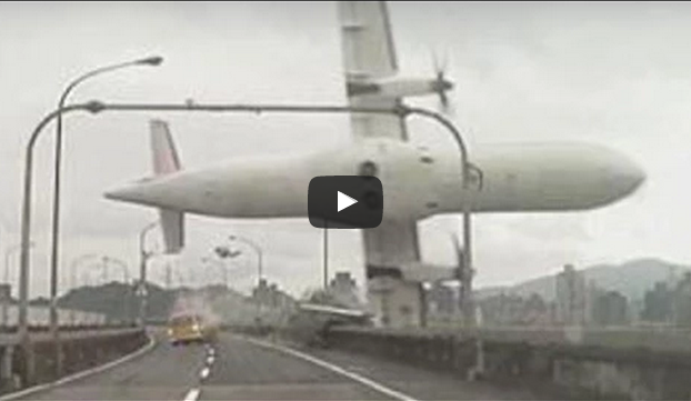 dangerous plane crashed