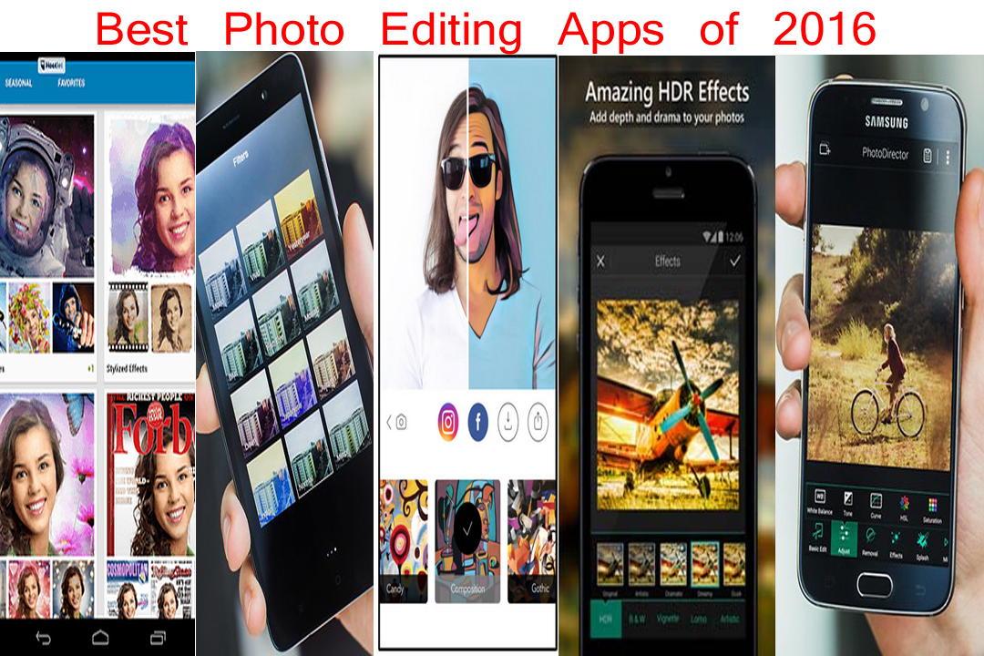 Best editing apps of 2016