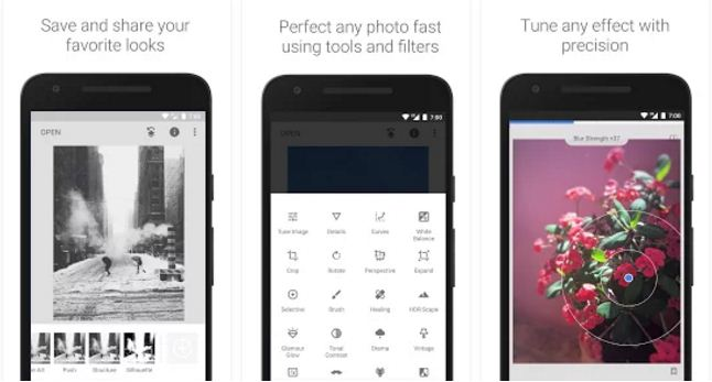 Snapspeed photo editing apps