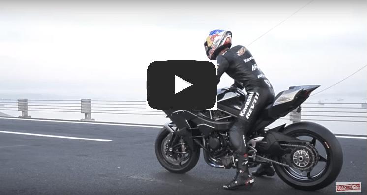 KAWASAKI H2R World fastest Bike : Speed is 0-400km/h