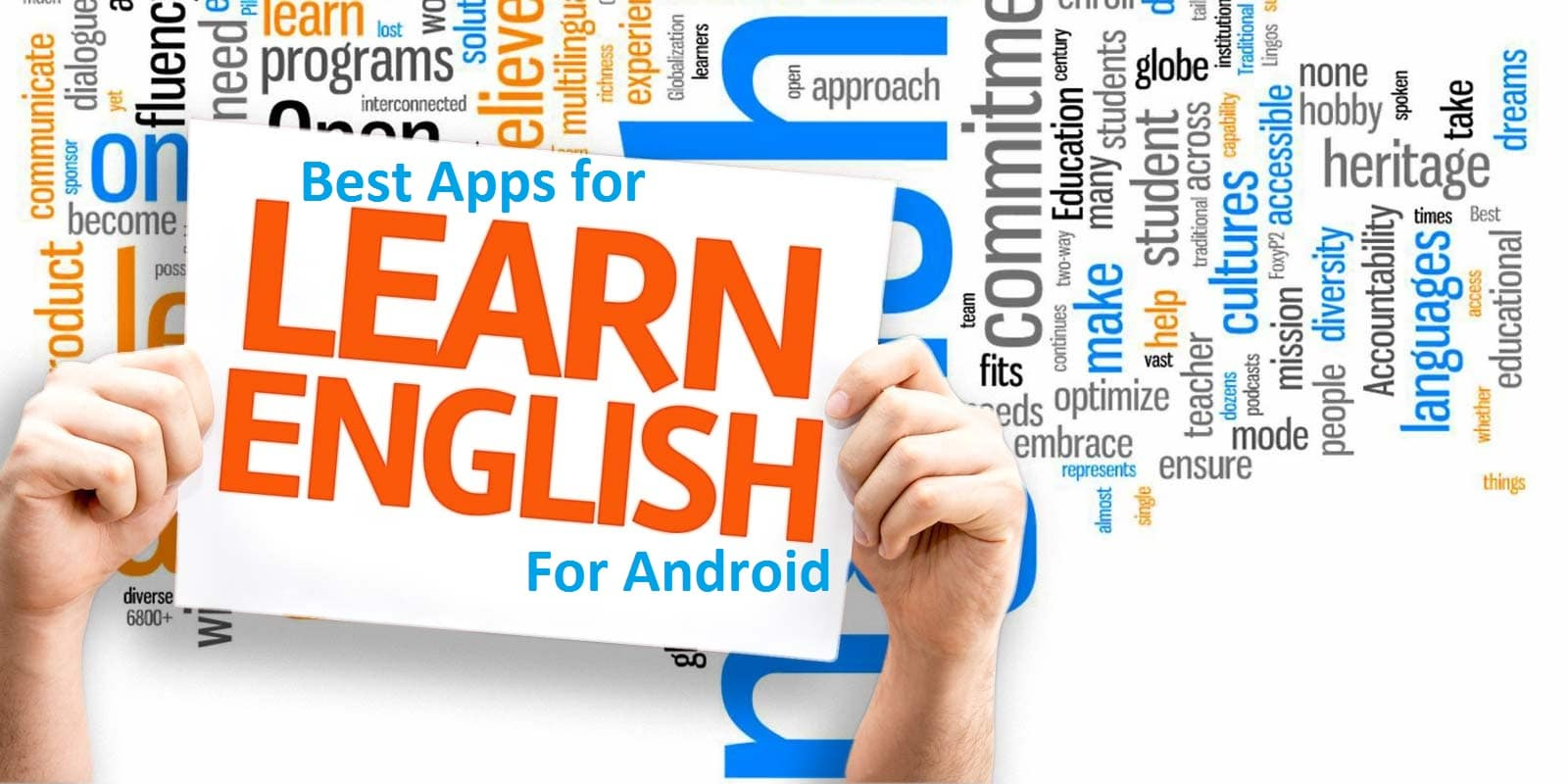 Best Apps for learning spoken english for Android