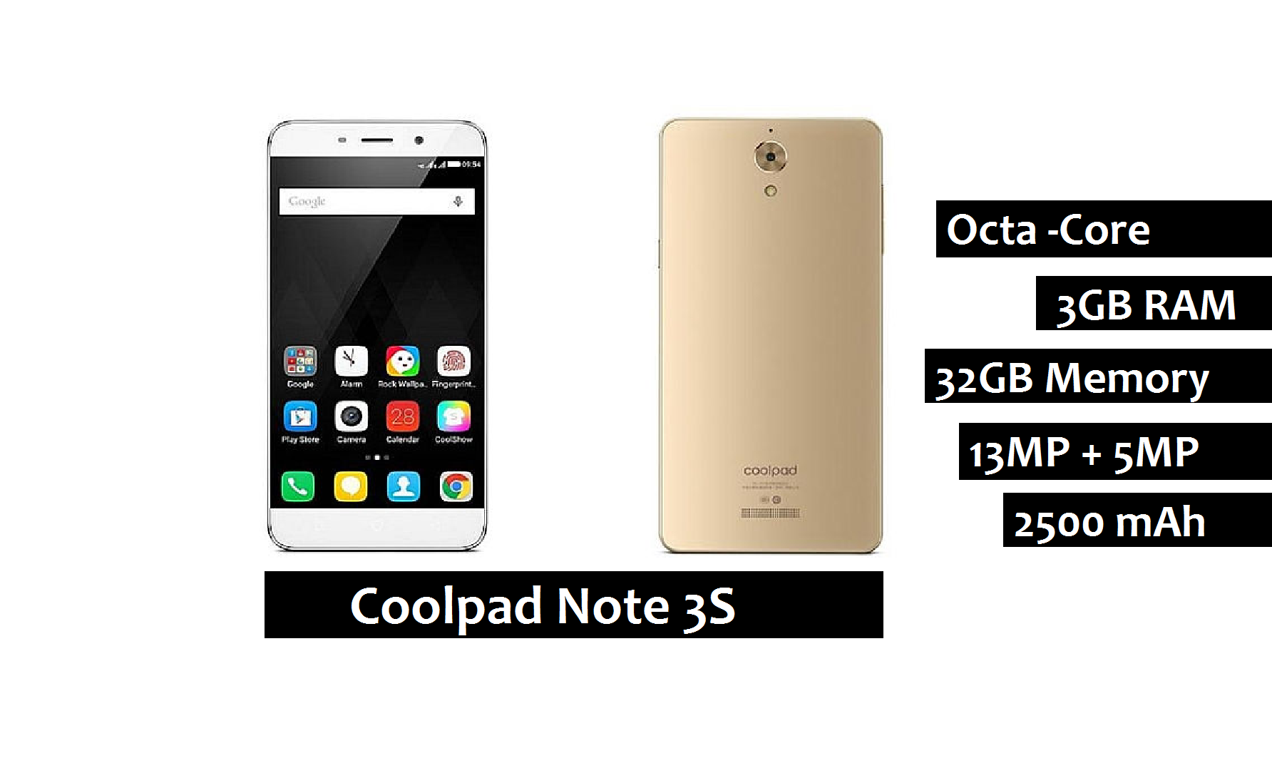 coolpad note 3s review features