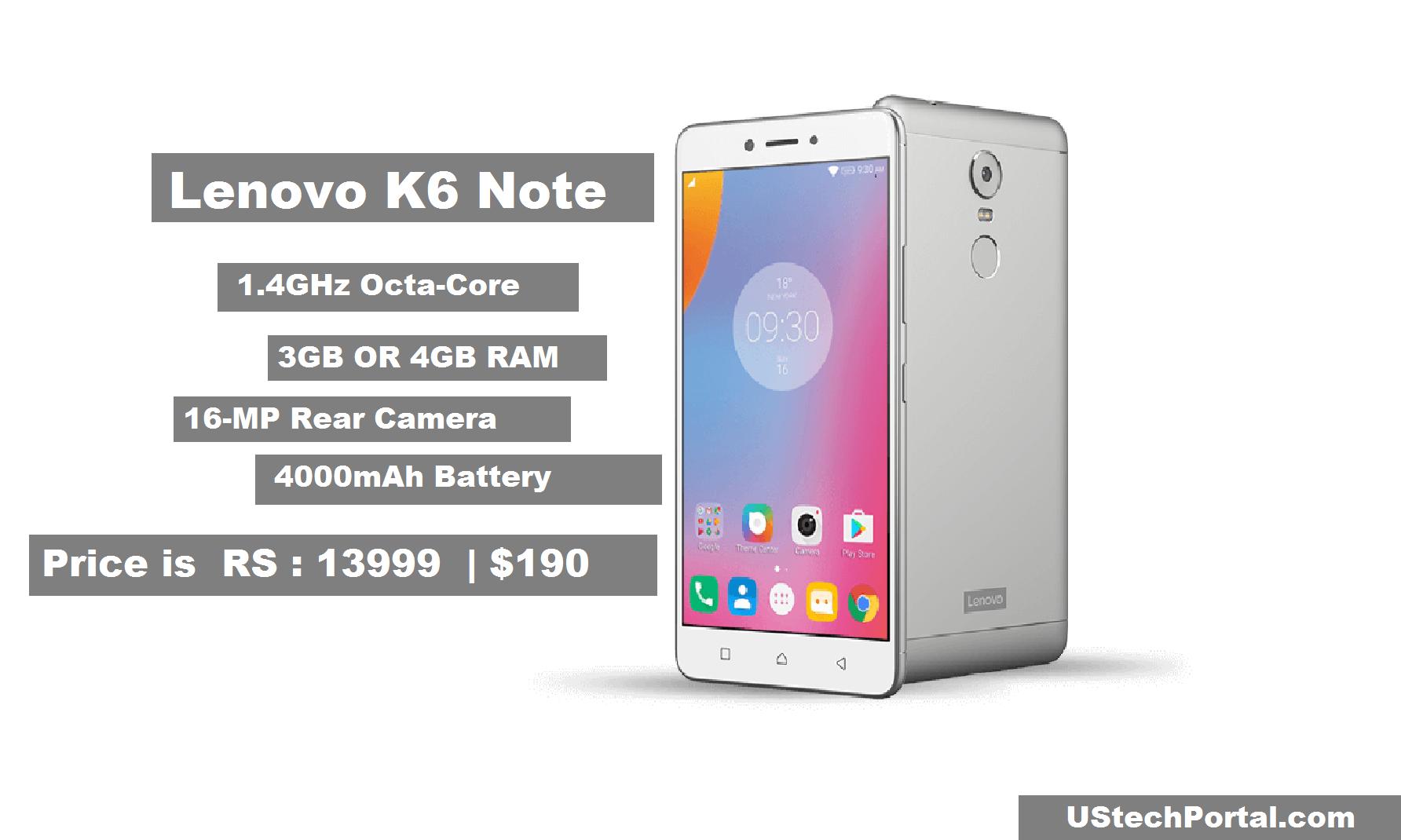 Lenovo K6 Note revew