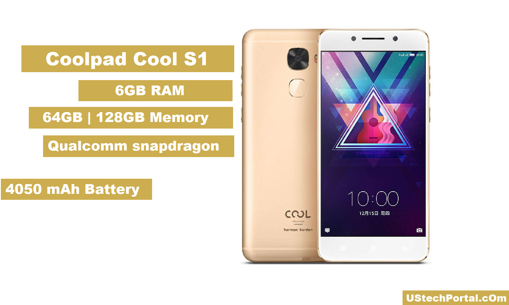 coolpad Cool S1 REview -Gold