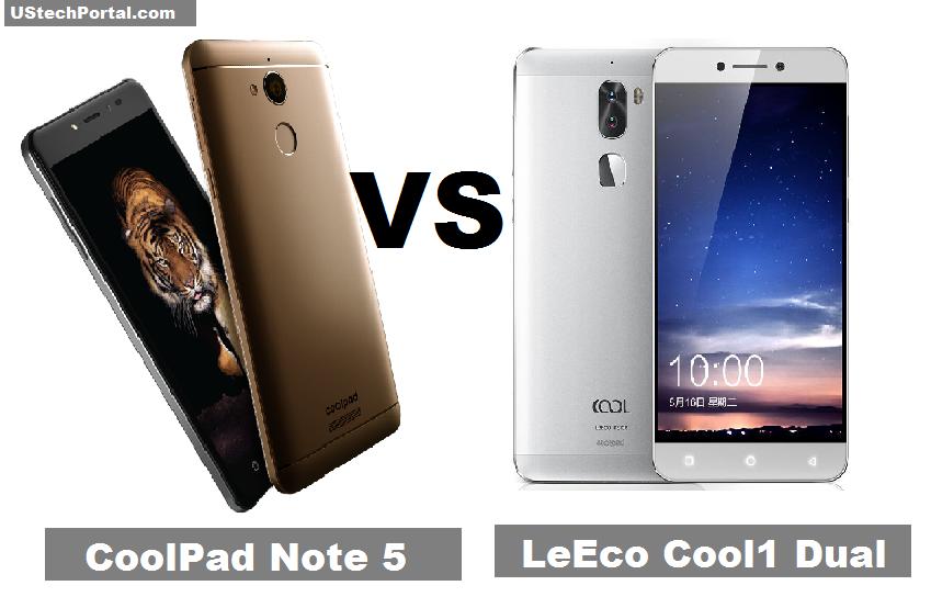 coolpad Note 5 VS Leeco Cool1 Dual