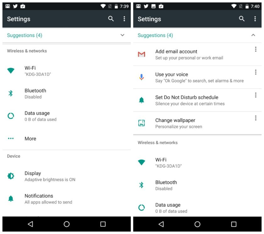 Android-7.0-Nougat-review-Settings-menu