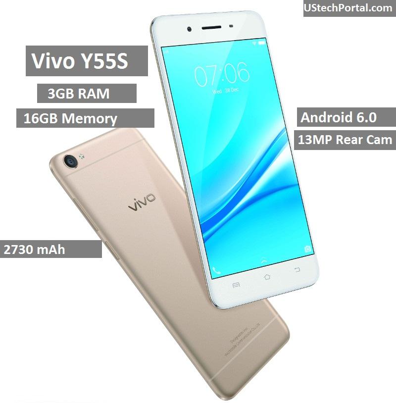 Vivo-Y55s-gold