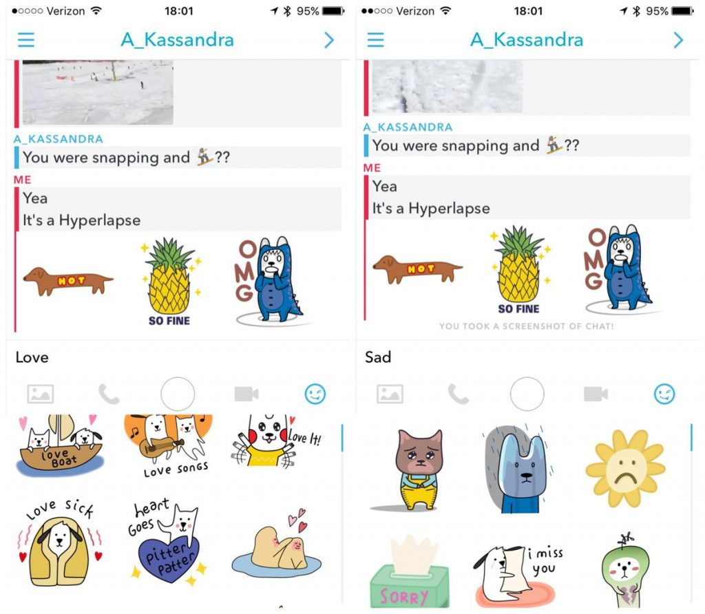 How to Add perfect stickers in snapchat