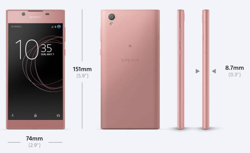 Xperia l1 pink