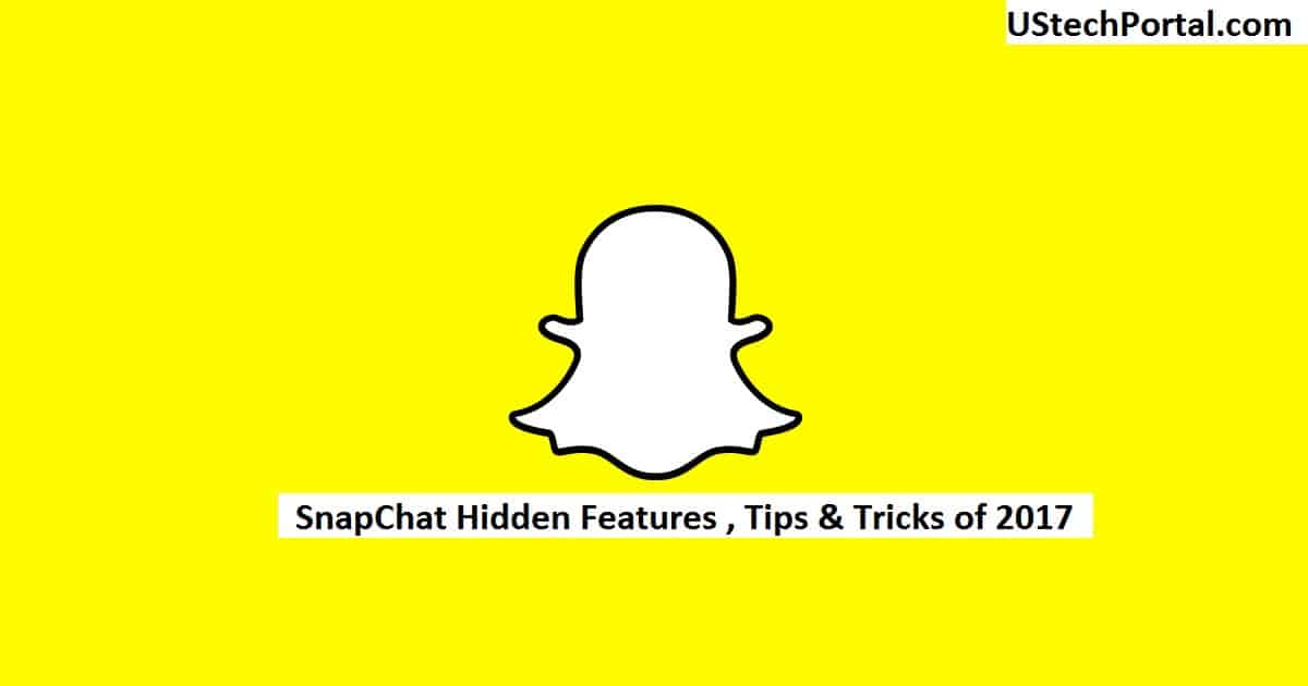 snapchat hidden features