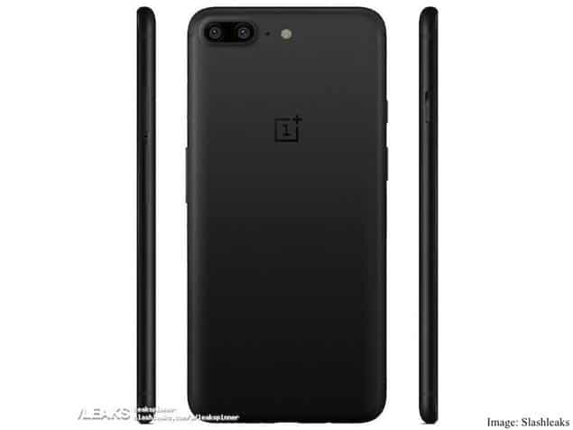 Oneplus 5 Side and Back Looks