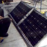 Automated Solar Tracker with Actuators