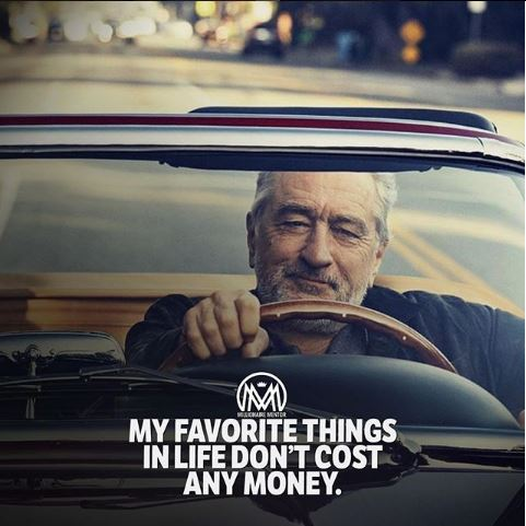 My Favorite Things in Life Don't Cost Any Money