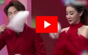 Beautiful Woman Eat Candy Floss: She Eat So Faster |…