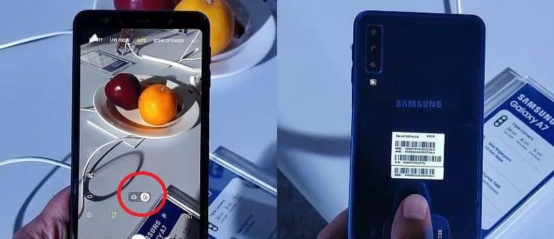 Samsung galaxy a7-2018-triple-camera