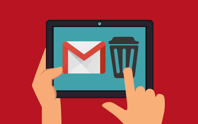 Howto delete Gmail account