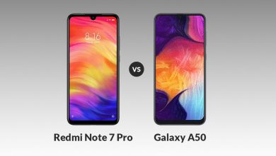 Samsung A50 VS Redmi Note 7