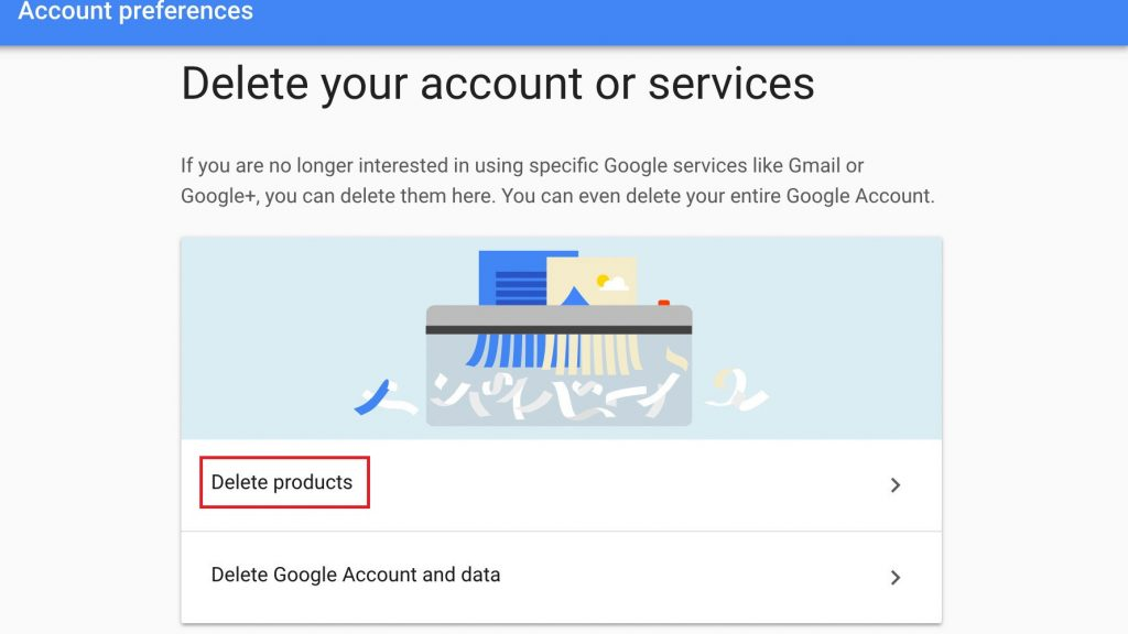 Gmail Account - Permanent Deletion Process