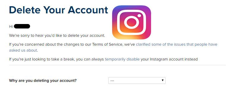 How to Delete Instagram Account -Delete My instagram Account Permanently