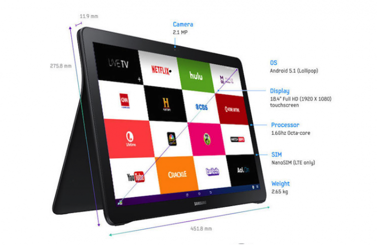 SamSung Galaxy View Tablet price is only $599| Full Specifications - UStechportal.com
