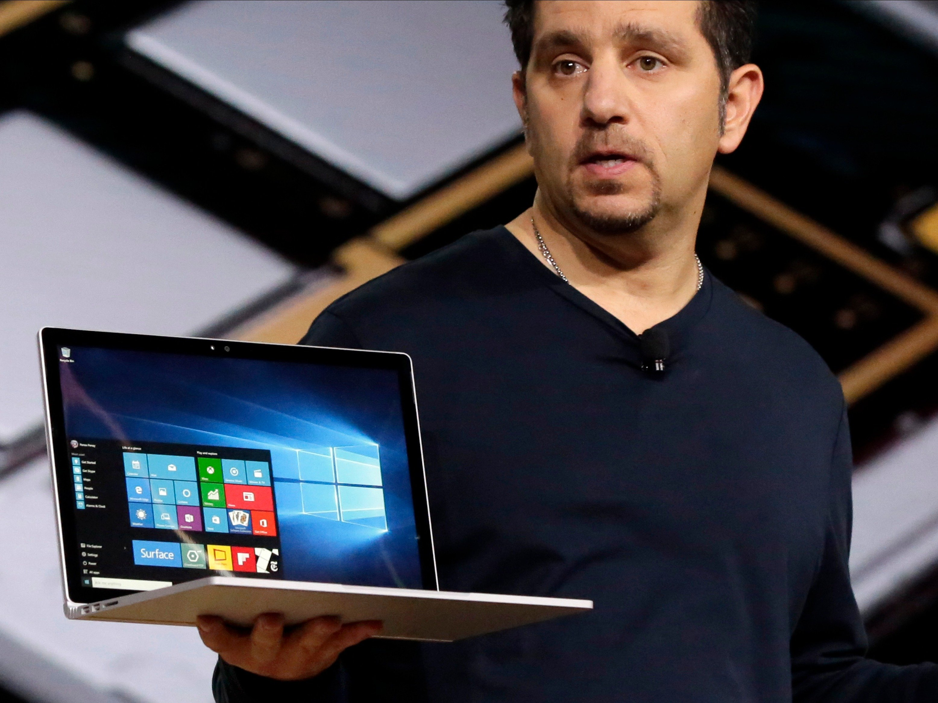 Microsoft-New-Devices-Surface-book-laptops|Window10-For-Phones