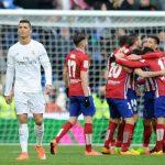 Final Time score Real Madrid 0 - 1 Atletico de Madrid