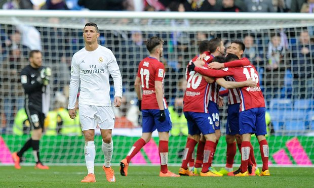 Final Time score Real Madrid 0 – 1 Atletico de Madrid,Atletico Madrid WON