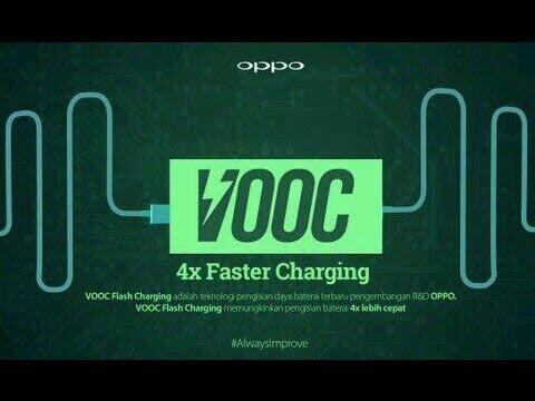 OPPO World Faster charging technology SuperVOOC full battery in few mins