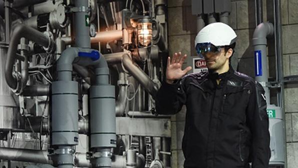 Daqri smart helmet uses Intel for future of work