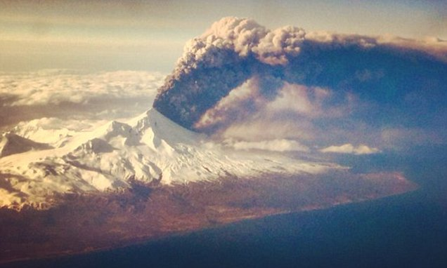 Alaska's Pavlof Volcano Spews Ash 20,000 Feet Into The Sky