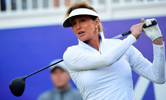 Great day for Caitlyn Jenner in Pro-Am  woman tournament