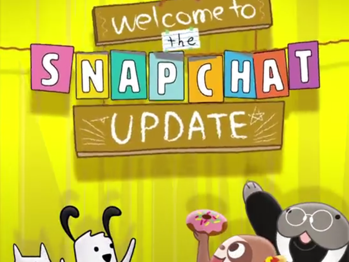 SnapChat (2016 update) New Features – Notes ,Video chatting, Stickers