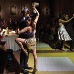 President Obama enjoy tango with dancers