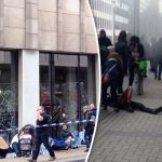 Brussels: At least 10 killed in 2 blasts at Brussels airport