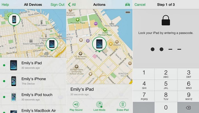 Find My iPhone Apple Tool