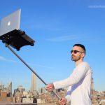 Macbook Selfie Stick Is the Tech Trend
