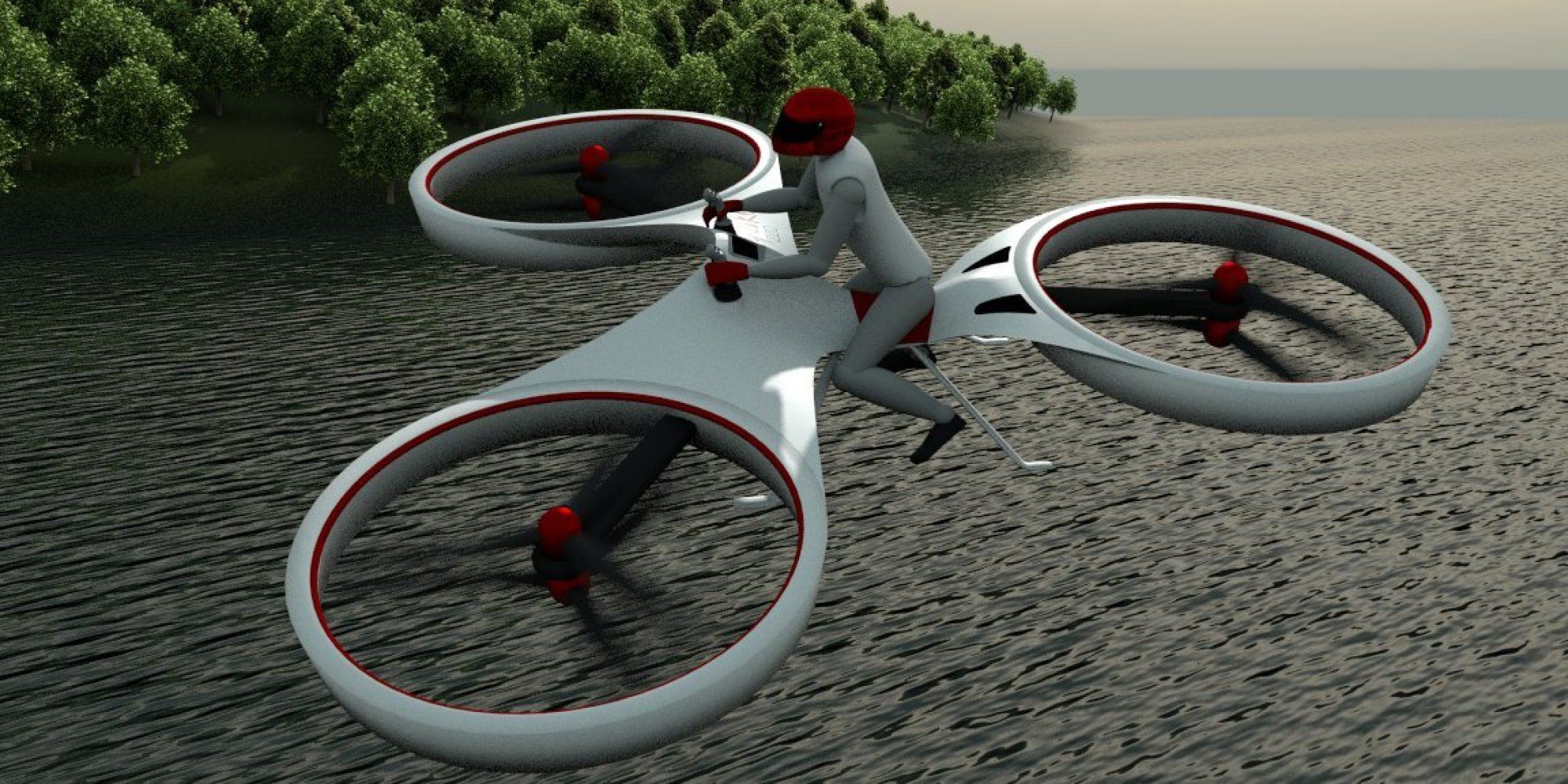 Hoverbike technology in trend