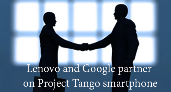 Lenove's First phone with Google project Tango