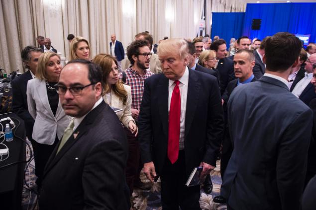 Donald Trump manager charged in alleged incident with reporter