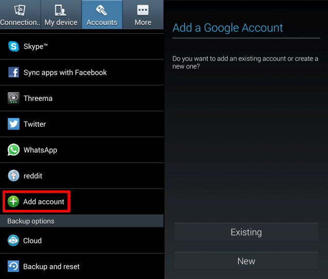 add multiple google account