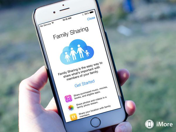 Apple family sharing