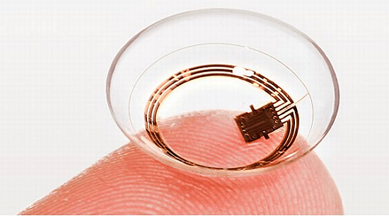 Samsung Smart Contact Lenses