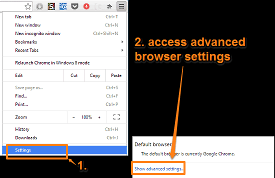 How to disable Google Chrome notifications