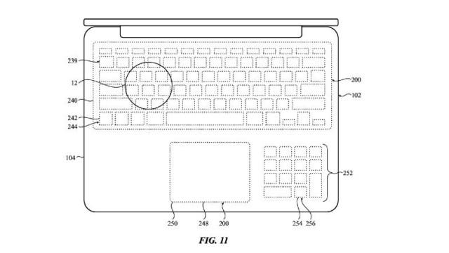 Apple Touchscreen keyboards