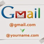 Gmail Personal Email address worth $2 per Month